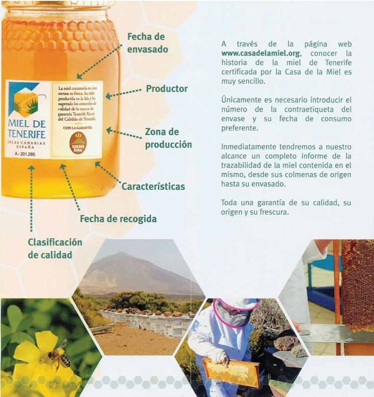 Trazabilidad Miel de Tenerife